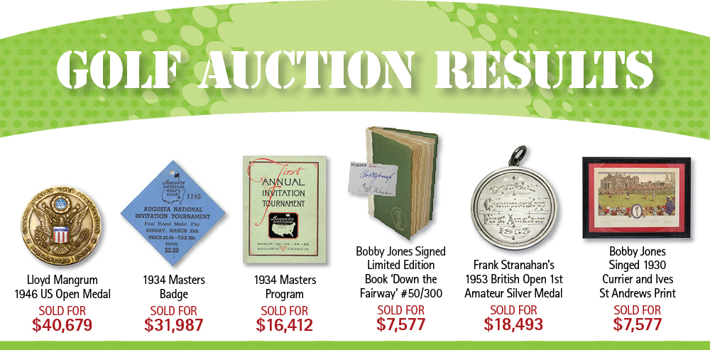January 2015 Auction Results